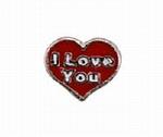 I Love You - Enamel Charm
